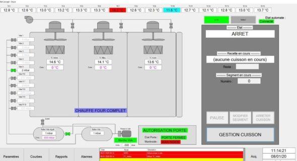 autoclave control system