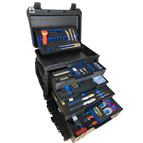 Helicopter repair tool kit